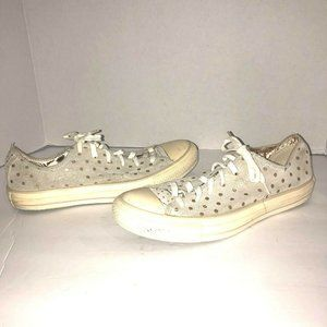 Converse Chuck Taylor Womens 6.5 Gold Sneakers